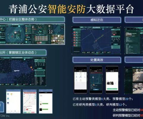 公共安全 | 青浦公安「智能安防系统」获智慧公安示范实践奖